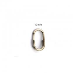 STAINLESS STEEL OVAL SPLIT RING (OLYMPUS)
